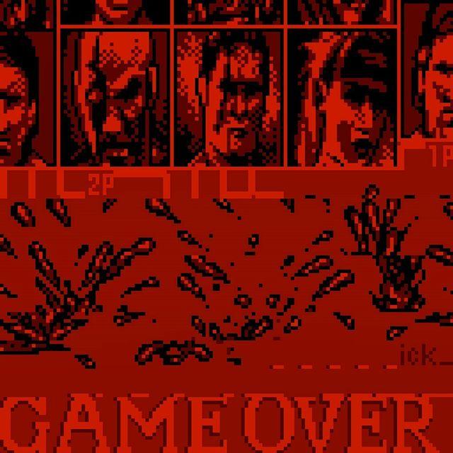 Francesco Tomei, Pixel Vandalism on Mortal Kombat 4 (NES)