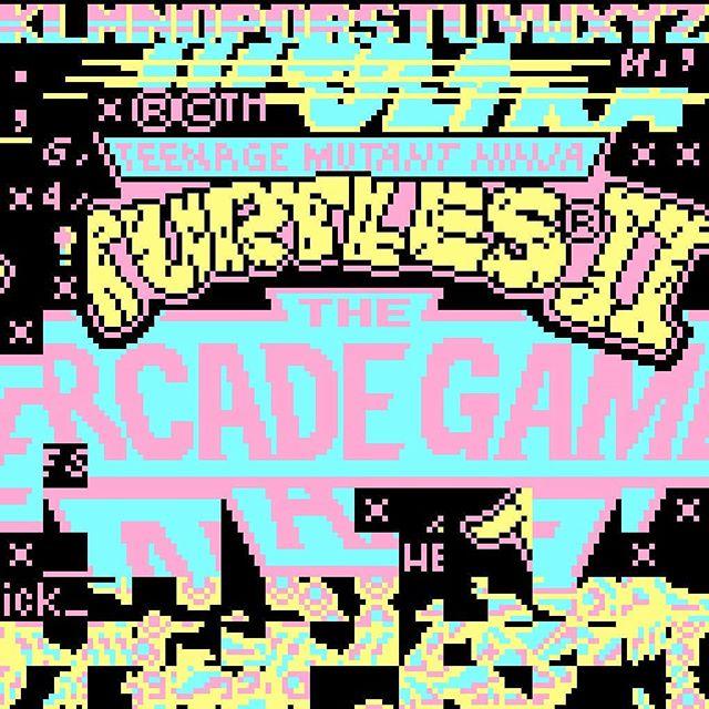 Francesco Tomei (@ick_), Pixel Vandalism on Teenage Mutant Ninja Turtles 2 (NES).